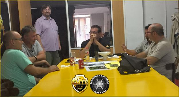 Reunión de Plataforma con Élite Taxi Barcelona